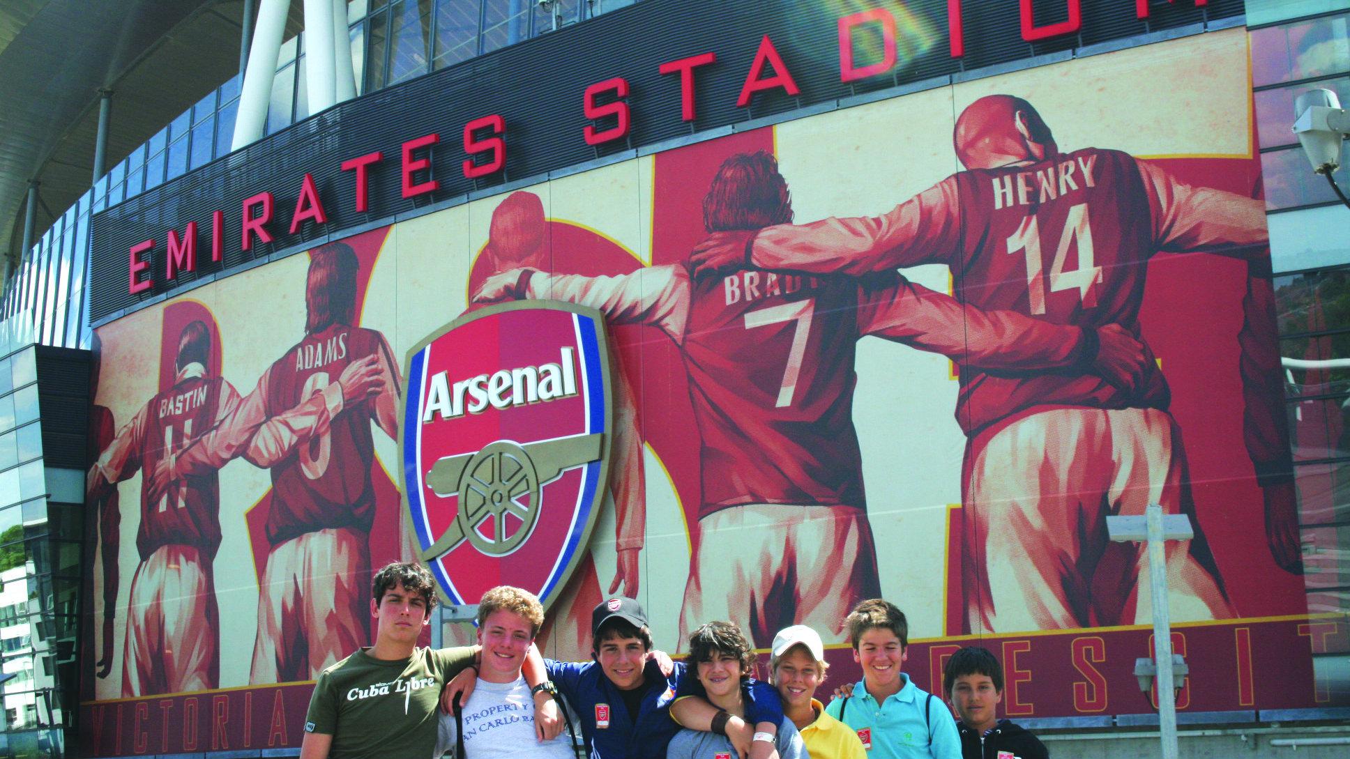 Arsenal Soccer Schools Stadium Trip