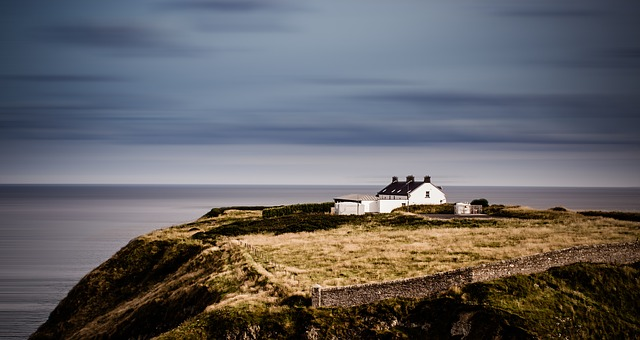 paysage côte irlandaise