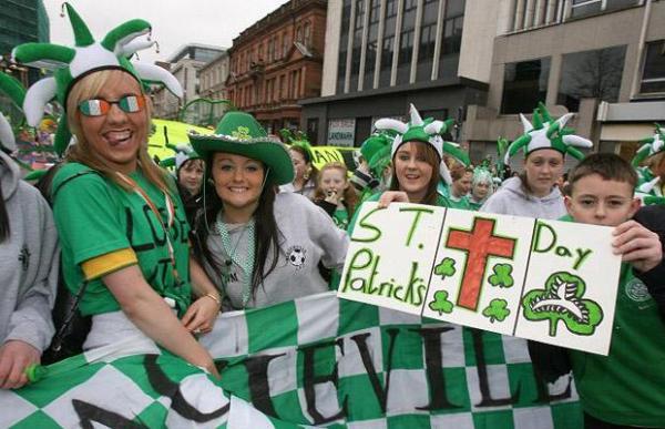 Un séjour linguistique à la Saint Patrick !
