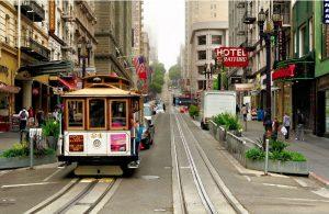 Tram San Francisco en Californie USA