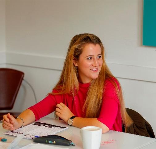 Léopoldine 28 ans, anglais en immersion totale à Londres