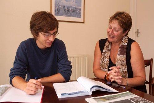 Louis 16 ans, séjour en immersion totale chez le professeur en Irlande