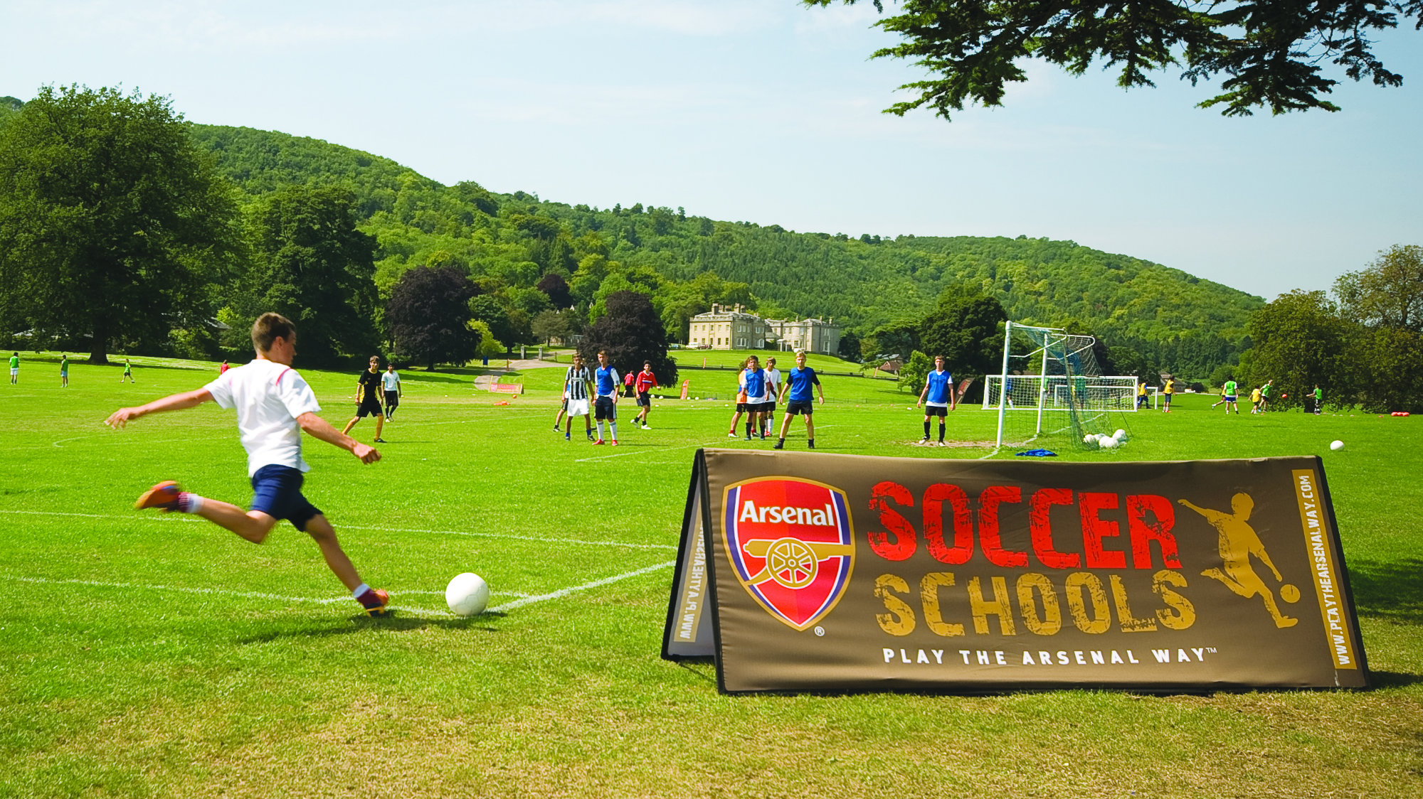 Arsenal Soccer Banner