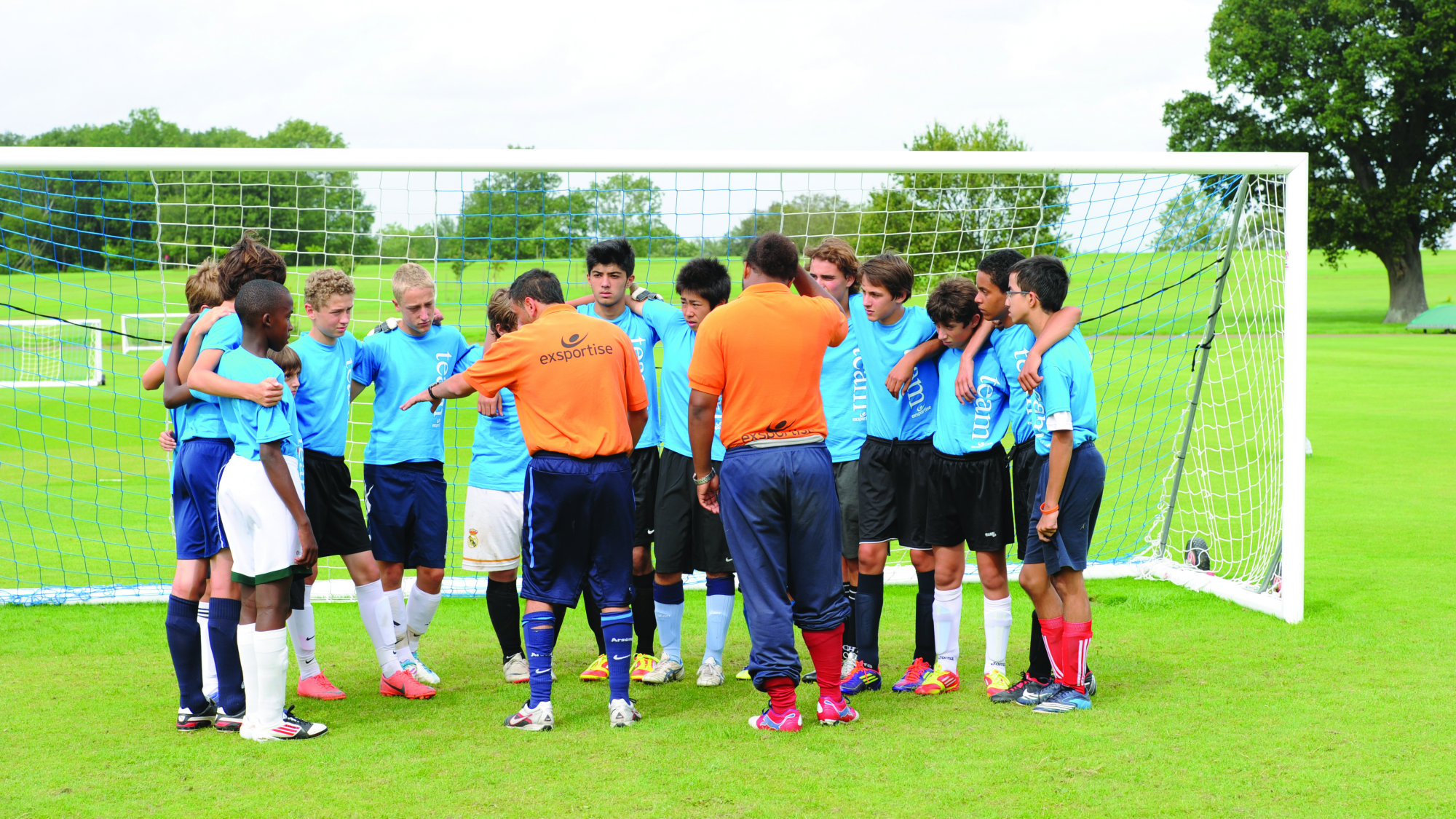 Arsenal Soccer Schools Team Talk