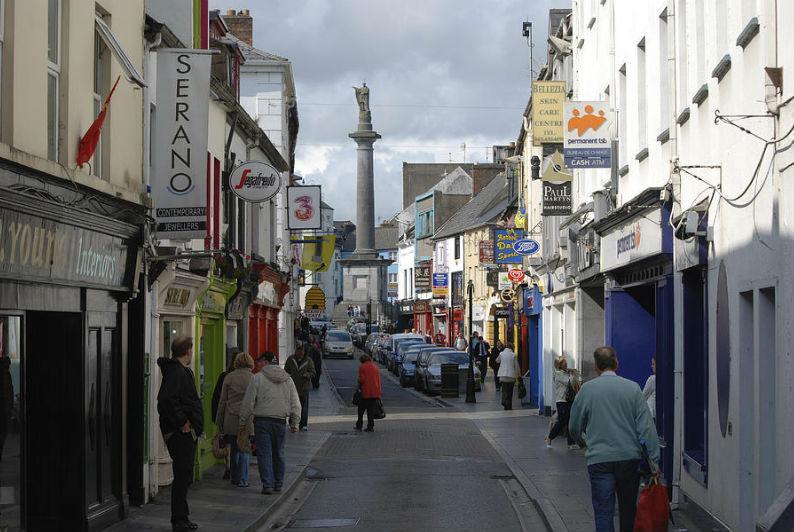 rue d'Ennis en Irlande