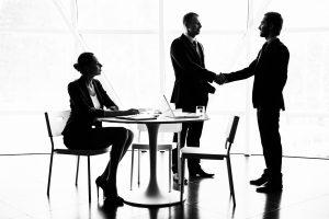 réunion entretien d'embauche