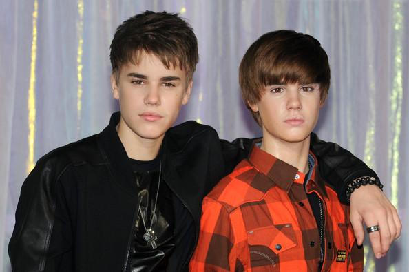 Justin Bieber Madame Tussaud Londres Angleterre