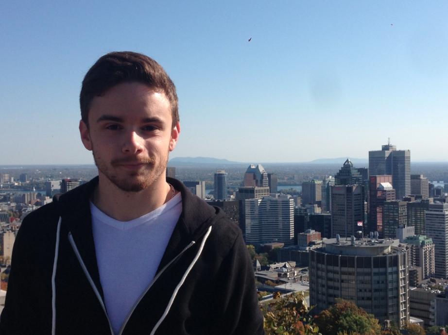 Maxime 21 ans, séjour linguistique à Montréal au Canada