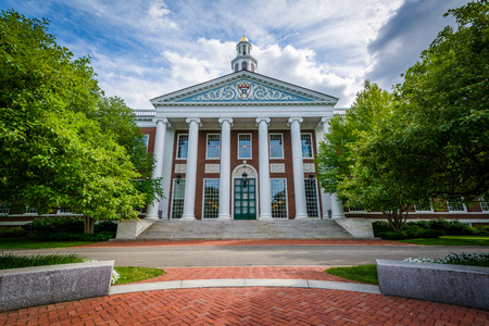 Baker Library Harvard Business School Boston Massachussets USA