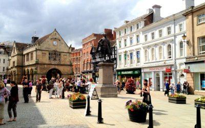 Pascale, stage d'anglais à Shrewsbury