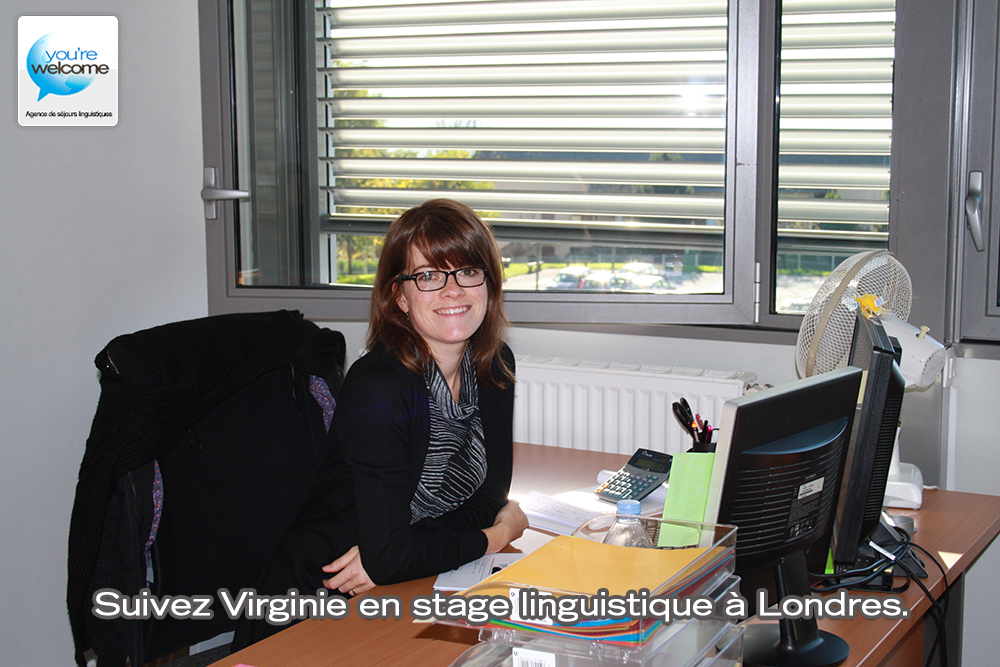 virginie part en stage d 39 anglais londres l 39 interview avant d part you 39 re welcome. Black Bedroom Furniture Sets. Home Design Ideas