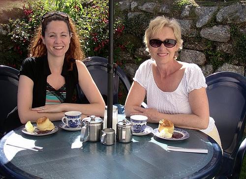 Thé lors d'un voyage en immersion en Angleterre pour adultes